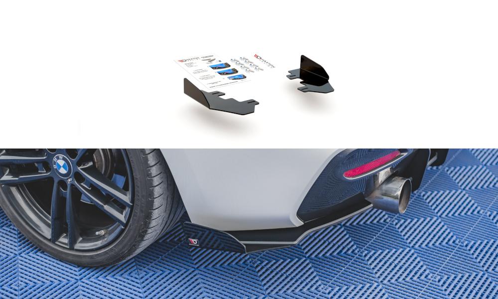REAR SIDE FLAPS BMW 1 F20 M-PACK FACELIFT / M140I - GRUBYGARAGE - Sklep Tuningowy